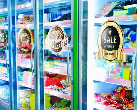 Sales promotion campaign labels