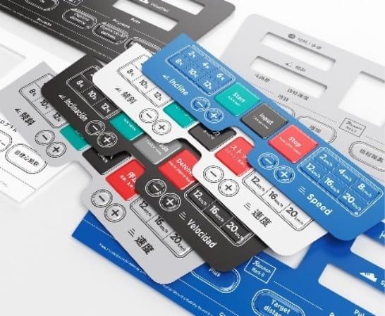 Multilingual versioning labels
