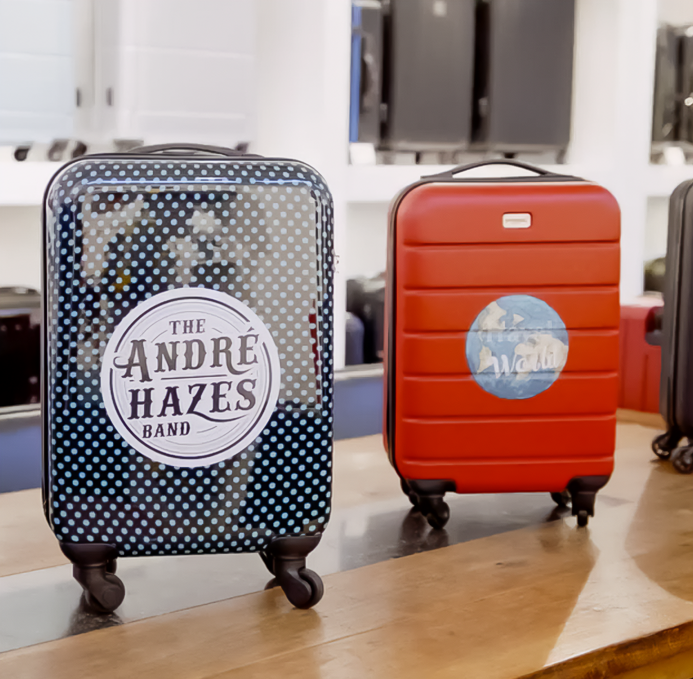 Customized Suitcase Printing Service by PRINCESS TRAVELLER