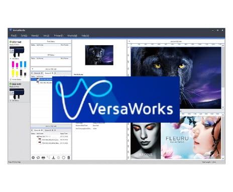 出力ソフトウェア VersaWorks 6 (LEC2-330に標準付属)