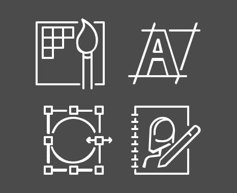 Adobe IllustratorやCorel DRAWなどのデザインソフトウェア