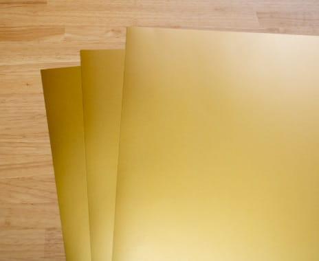 用紙(アルミ蒸着紙)
